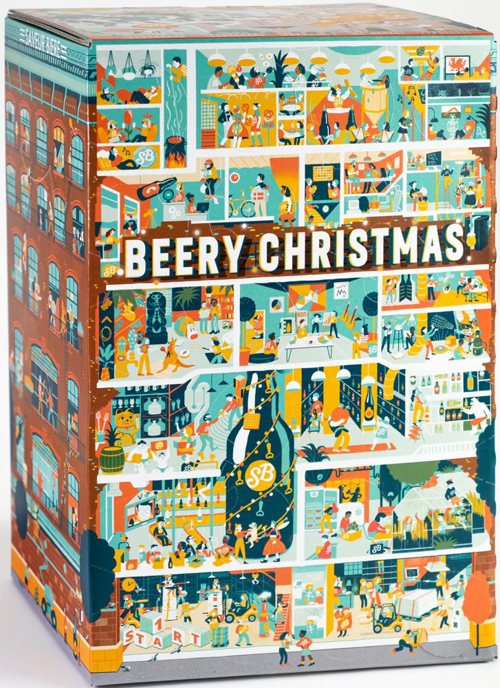 Calendrier De L Avent Que Mettre Dedans.Beery Christmas