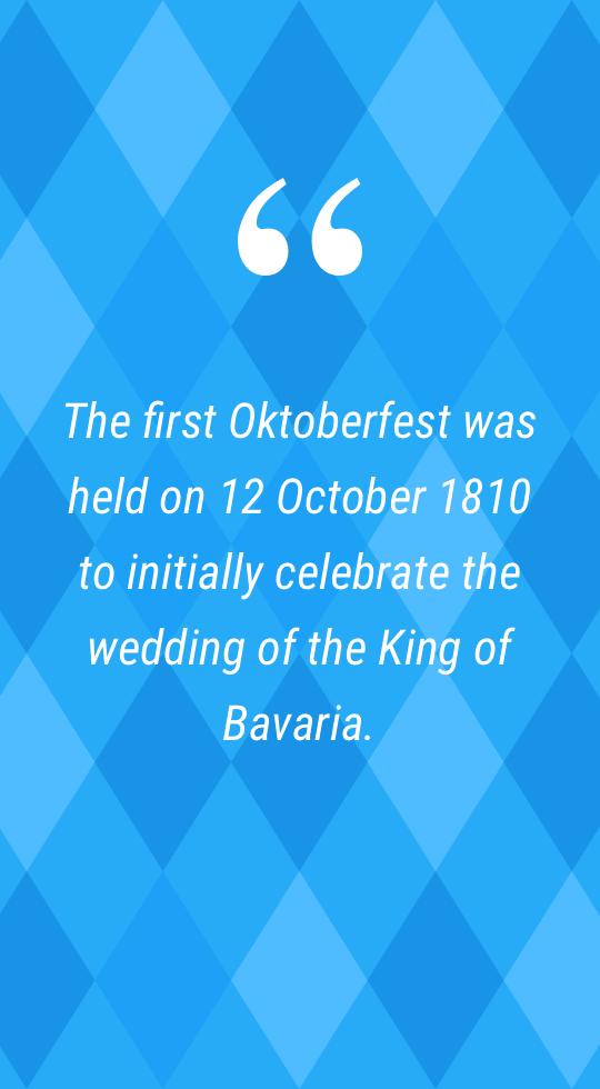 Oktoberfest 1810