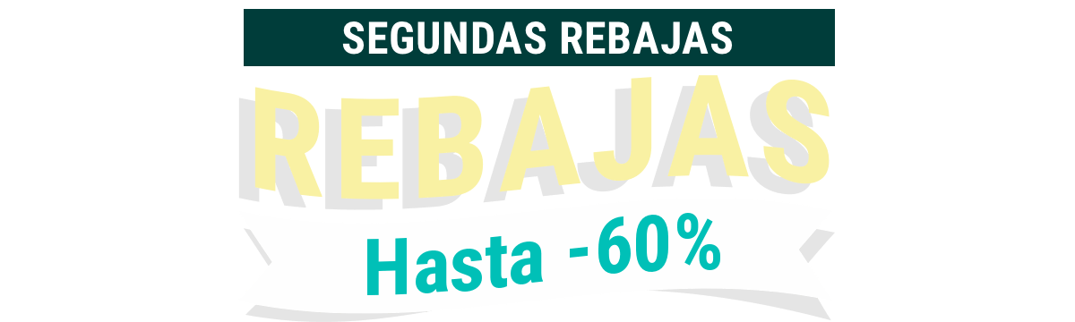 Rebajas de hasta el 50%