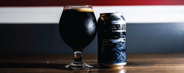 bière noire huitre