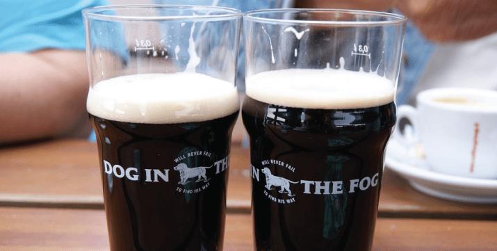 Bière porter pinte