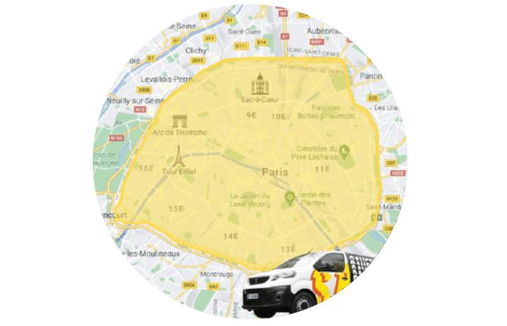 Carte Livraison Paris by Saveur Bière