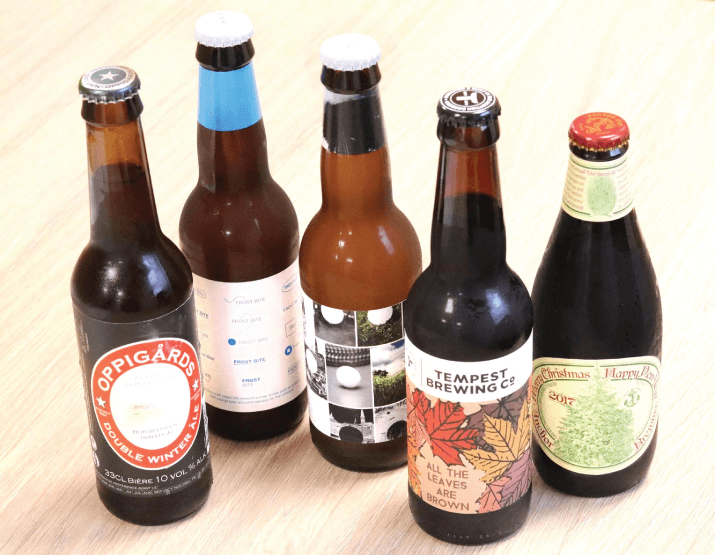bières en grosse quantité