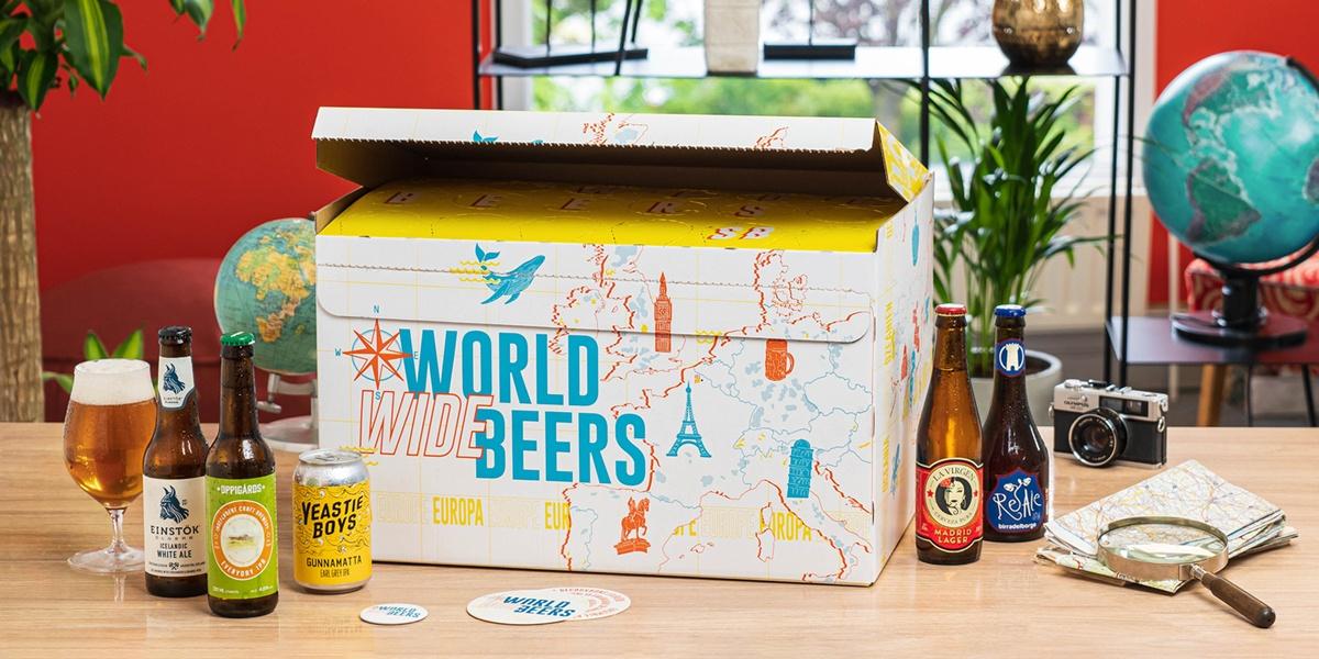 Coffret world wide beers
