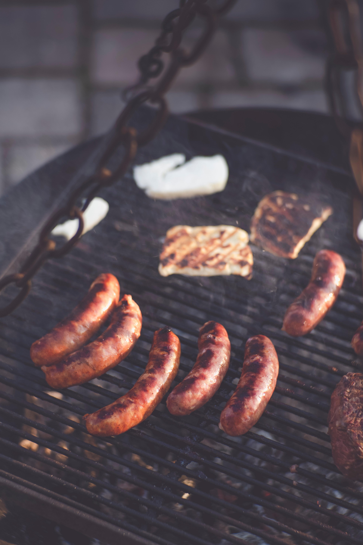 Hot dog au barbecue
