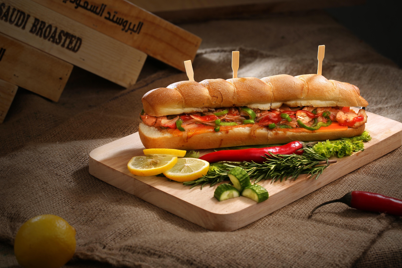 Hot-dog au four
