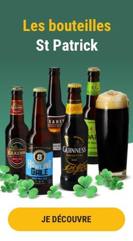 Les bouteilles St Patrick