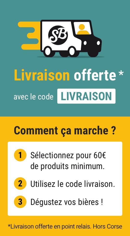Livraison offerte dès 60€