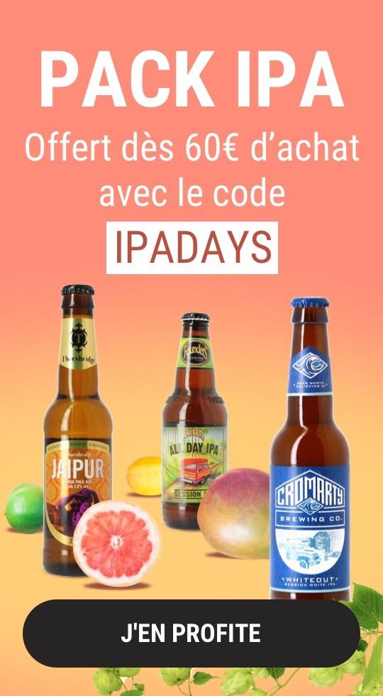 3 bières IPA offertes