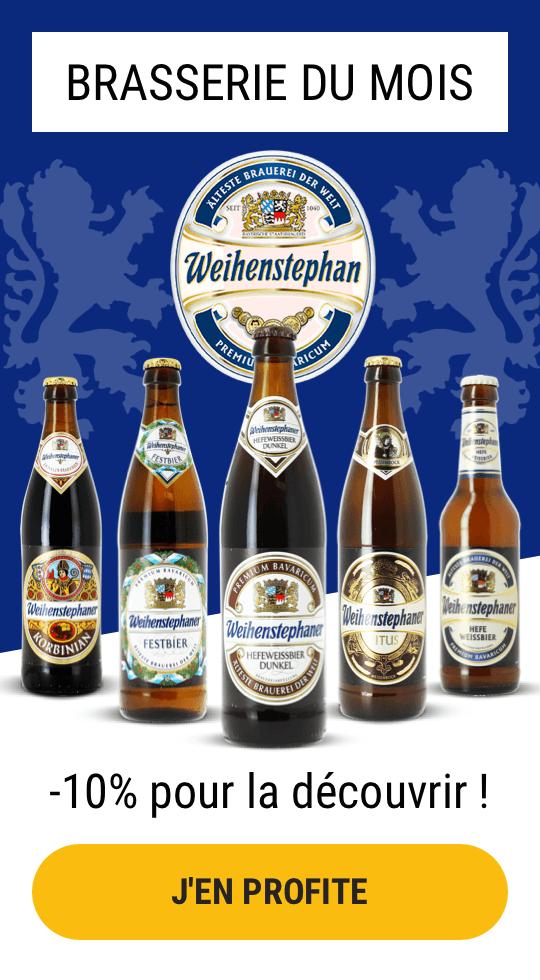 Les bières Weihenstephaner