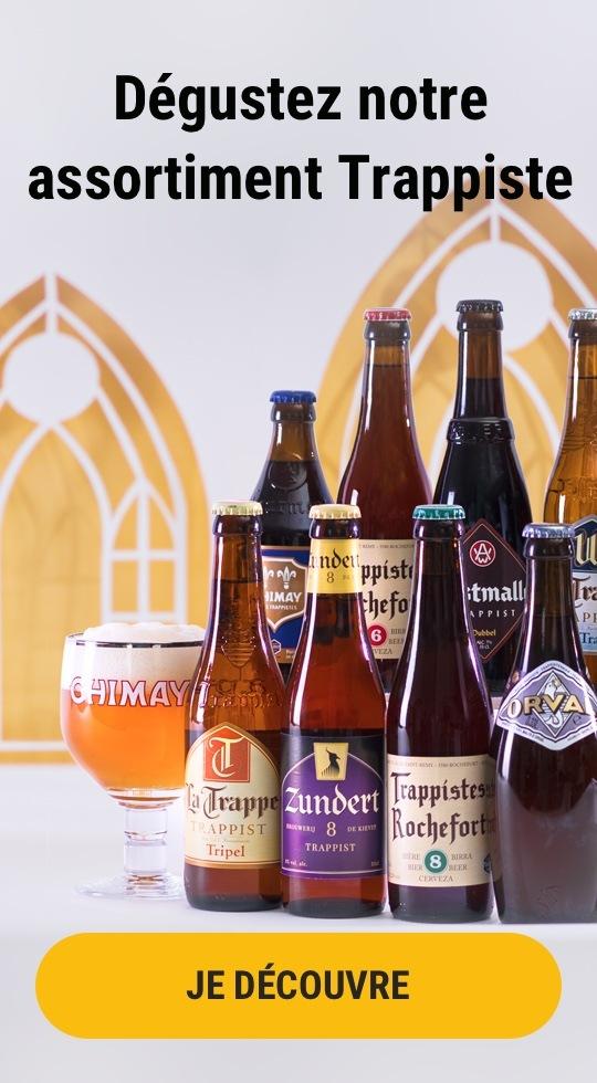 Nos coffrets de bières trappistes