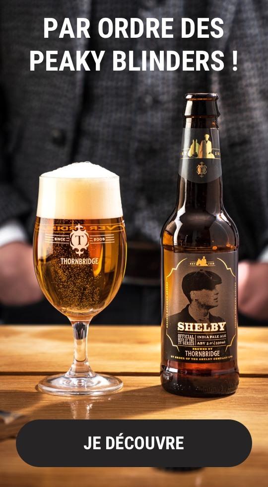 La bière Peaky Blinders