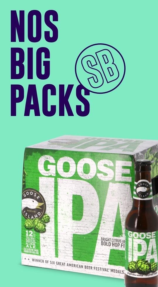 Big pack de bières