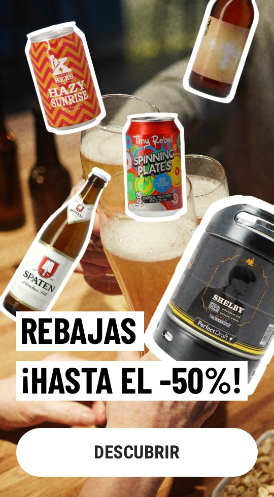 Rebajas cerveza