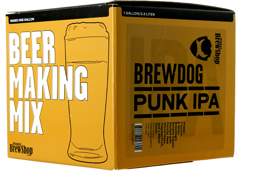 Recarga para el kit Brooklyn Brewdog Punk IPA