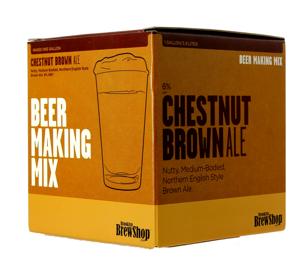 Recarga para el kit Brooklyn Brew Chestnut Brown Ale