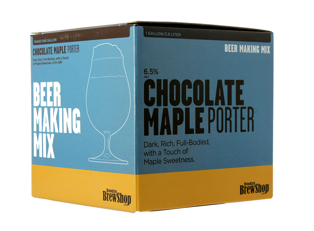 Recarga para el kit Brooklyn Brew Chocolate Maple Porter