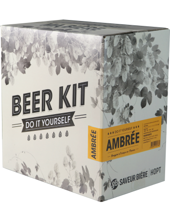 Brew Your Own Beer Kit - Abbaye Ambrée!