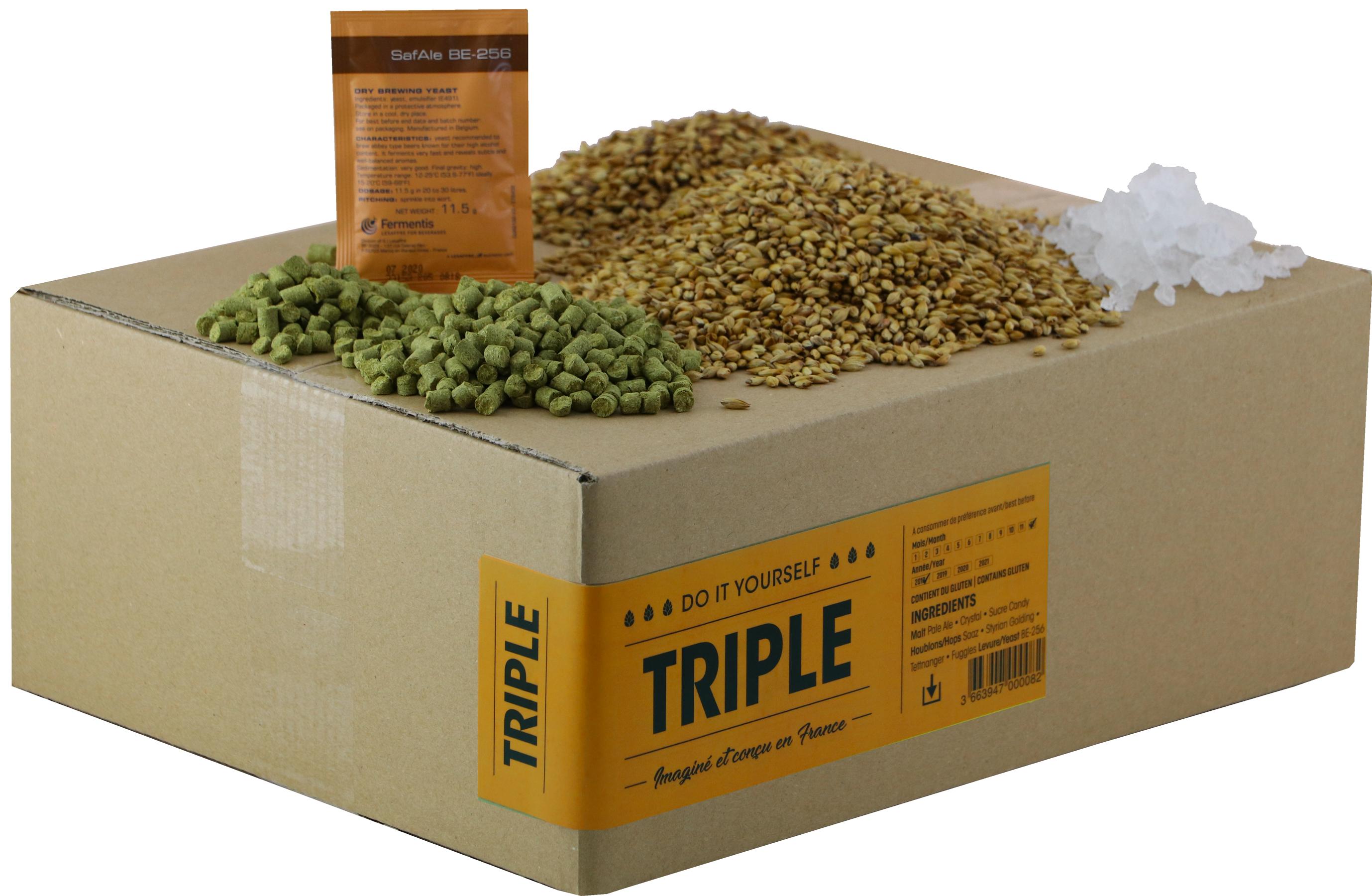 Recarga para el kit de elaboración de cerveza Triple de abadía