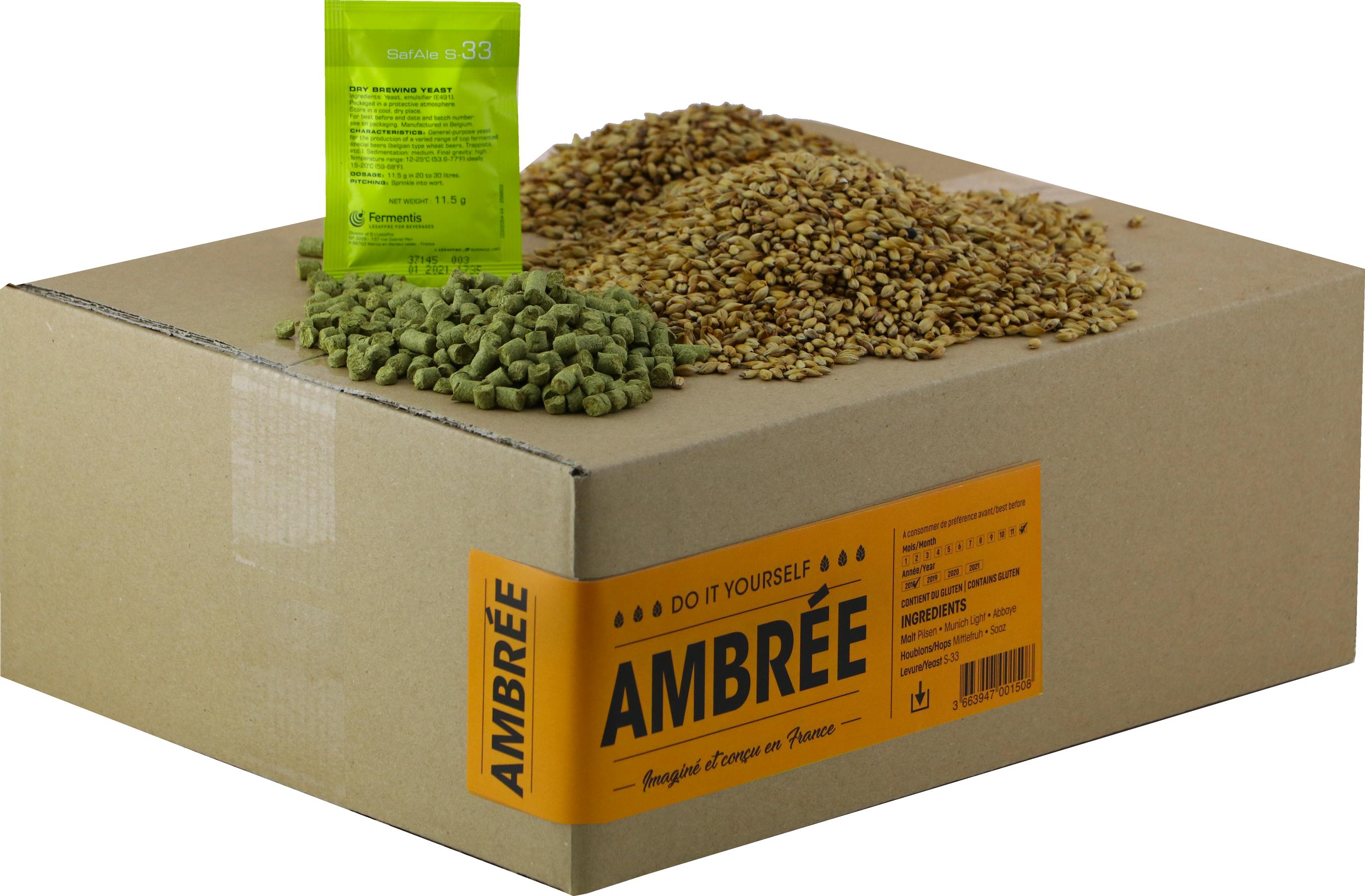 Recarga para el kit de elaboración de cerveza ambarina