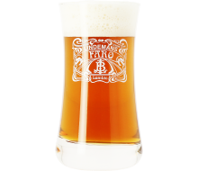 Lindemans Faro - 25cl Bock Glass