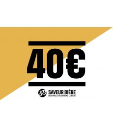 40 euro Gift Card