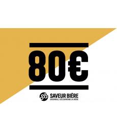 80 euro Gift Card