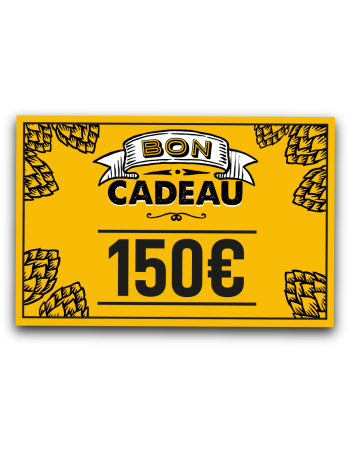 E-carte cadeau 150 euros