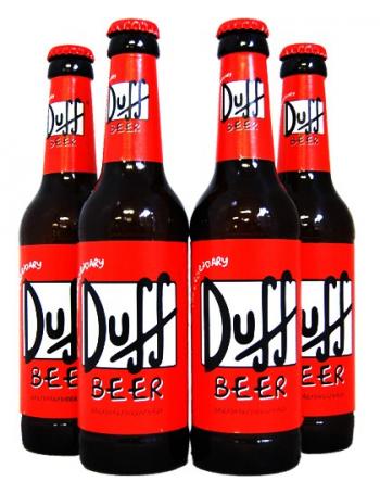 Lot de 4 Duff Beer