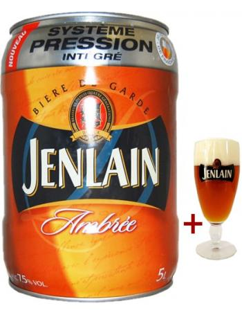 Fût 5L Jenlain + verre