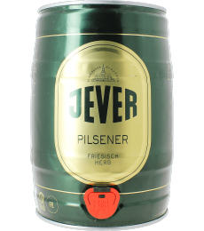 Fût 5L Jever Pilsener