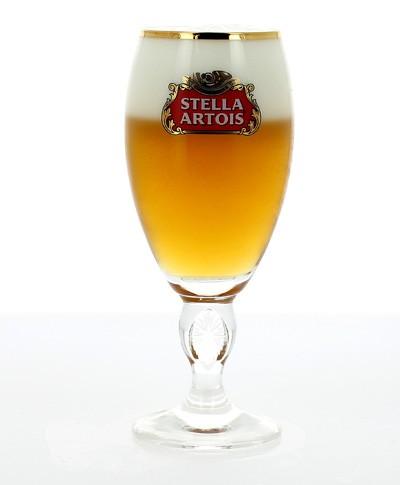 Verre Stella Artois à pied - 33 cl