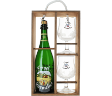 Tripel Karmeliet Gift Pack with Wooden Case