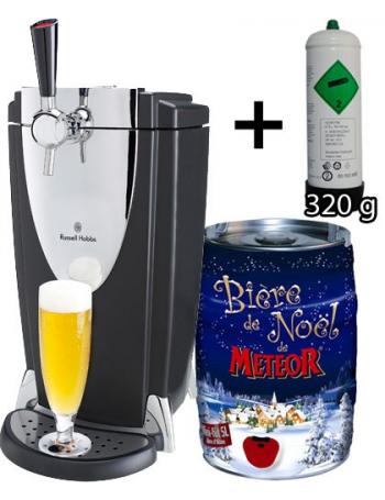 tireuse a biere russell hobbs pro fut meteor de noel. Black Bedroom Furniture Sets. Home Design Ideas