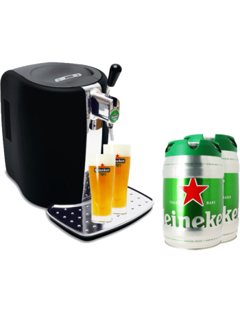 tireuse bi re beertender b80 2 f ts de bi re pression heineken 2 verres bi re. Black Bedroom Furniture Sets. Home Design Ideas
