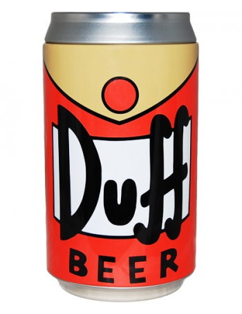 Tirelire Duff Beer en forme de canette