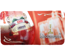 Lindemans Kriek Bar Mat