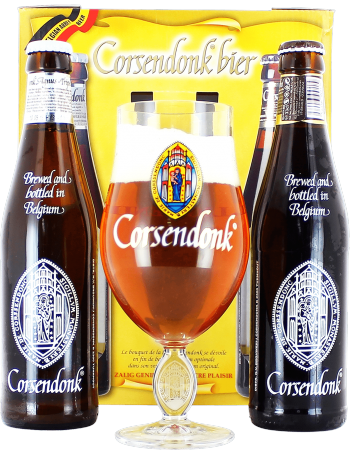 Coffret de 2 bi res corsendonk 1 verre brasserie - Coffret verre a biere ...