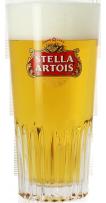 Verre Stella Artois strié - 33 cl