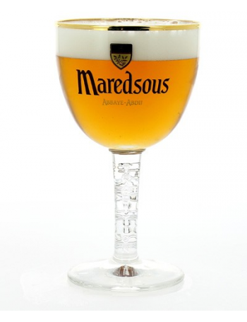 verre a biere maredsous. Black Bedroom Furniture Sets. Home Design Ideas