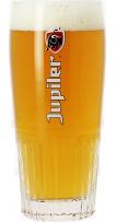 Verre Jupiler strié - Logo rouge - 33 cl