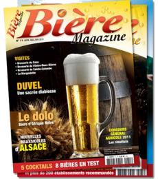 Abonnement Bière Magazine 1 an