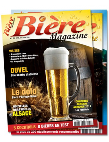 1 year subscription to Bière Magazine