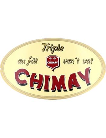 Plaque Chimay Triple