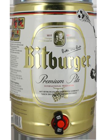 Bitburger Premium Pils - Keg 5l