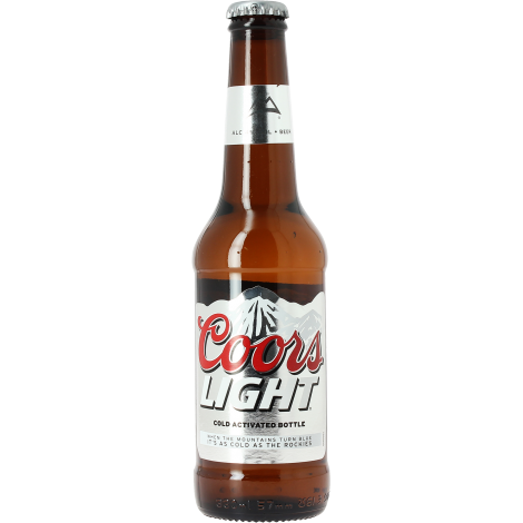 low sugar beer from coors brewing company coors usa lager blond 4 5 33. Black Bedroom Furniture Sets. Home Design Ideas