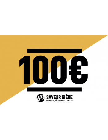 Gift Card 100 Euro Beers Glasses Dispensers Assortments Sets