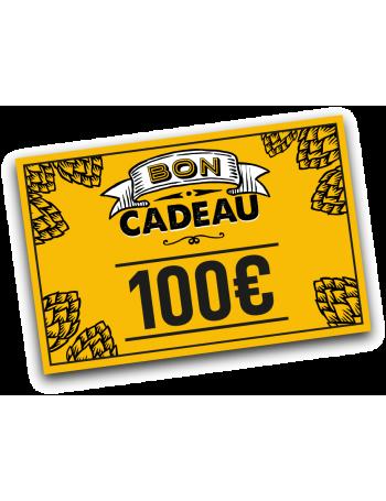 E-carte cadeau 100 euros