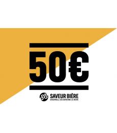 50 euro Gift Card