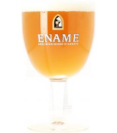 Verre Ename Bière d'Abbaye
